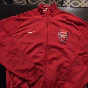 Nike Jackets & Coats - NIKE ARSENAL TRACK JACKET